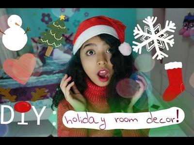 DIY : Holiday room decor