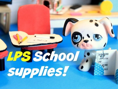 DIY LPS: How to make miniature school supplies Part 1