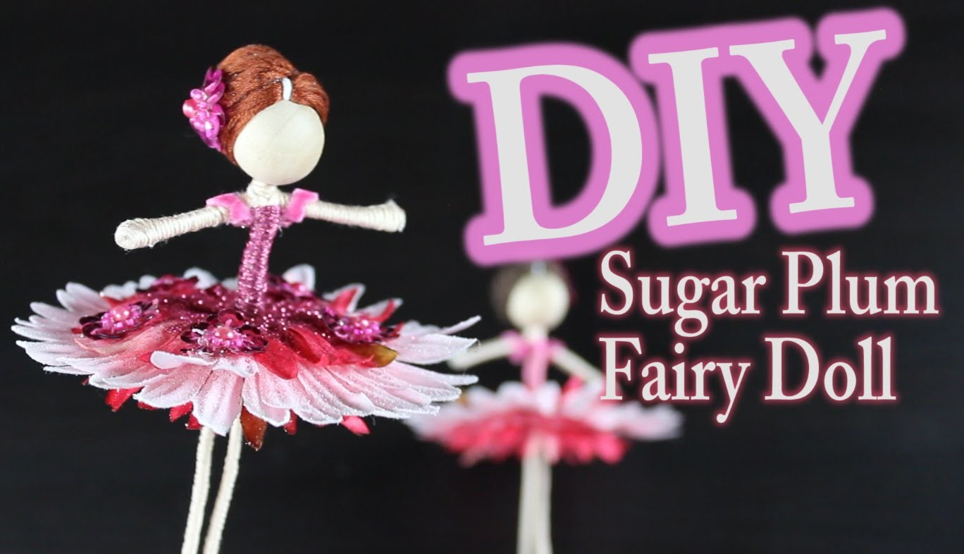 DIY Nutcracker Doll - Sugar Plum Fairy Doll