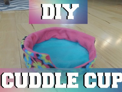 DIY: Small Pet Cuddle Cup!