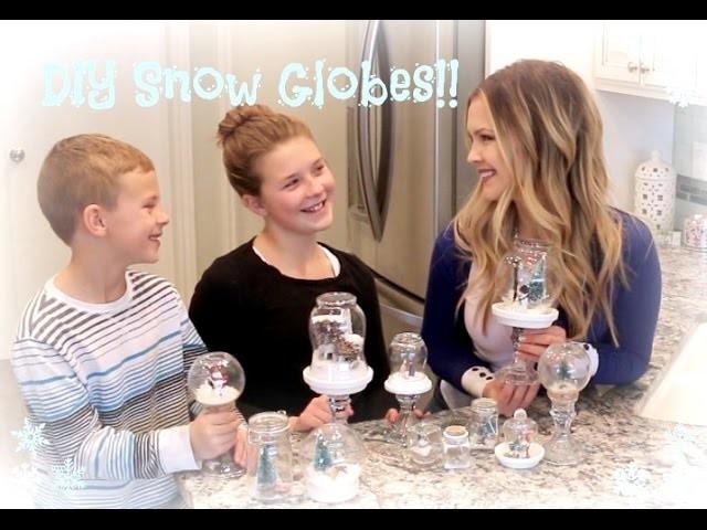 DIY Snow Globes!!