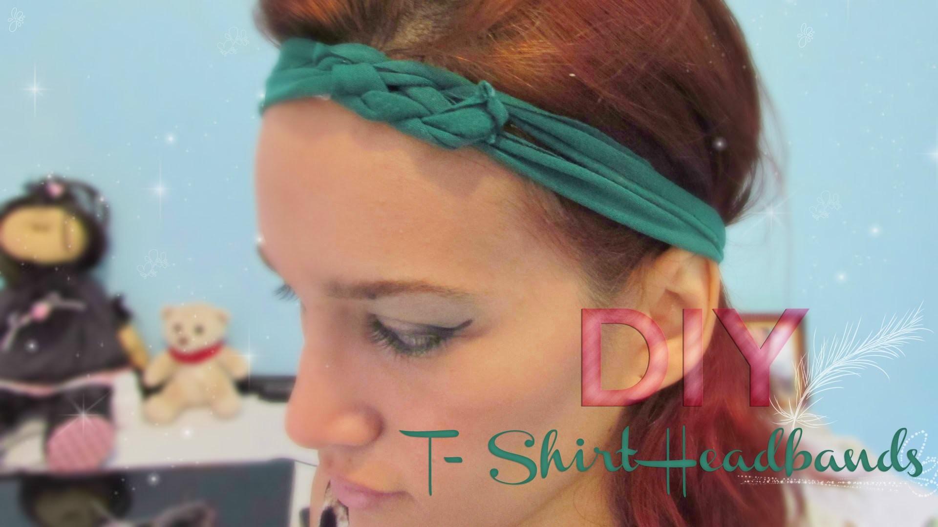 DIY T-Shirt Headband | Stephanie Ferreira