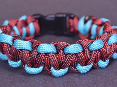 """DIY the """"Sidewinder"""" Paracord Survival Bracelet How To - BoredParacord"""