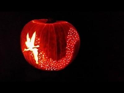 DIY -  Tinkerbell Helloweeen pumpkin