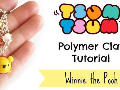 DIY Tsum Tsum Pooh Charm Polymer Clay Tutorial