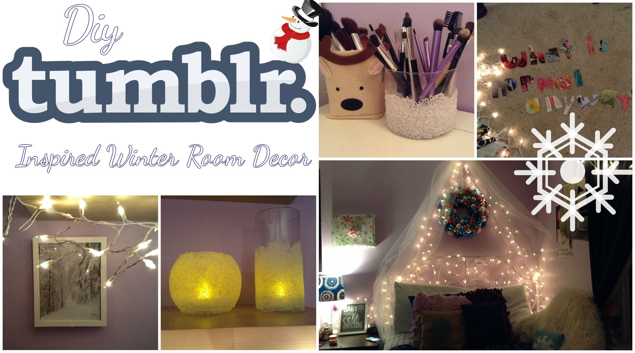 DIY Tumblr Inspired Winter Room Decor!