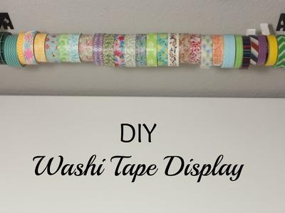 DIY- Washi Tape Display