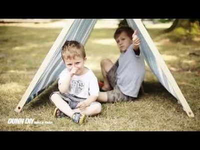 Dunn DIY Kids: A-Frame Tent