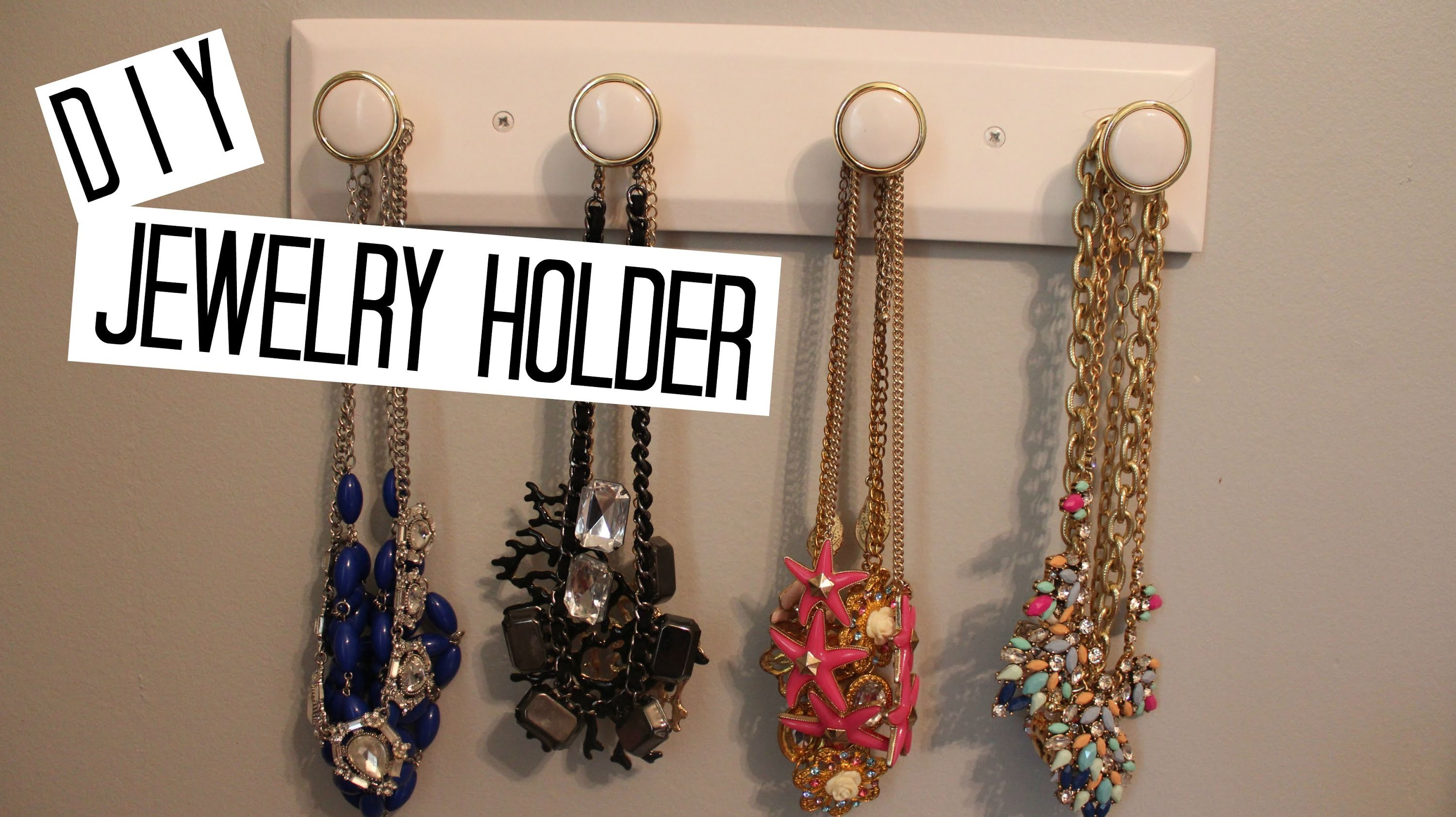 EASY DIY JEWELRY HOLDER | MISSRENXO