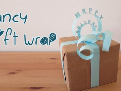 Easy Fancy Gift Wrap DIY | Sunny DIY