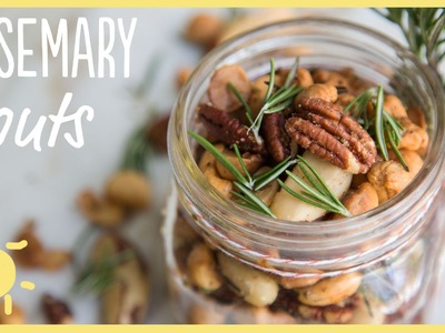 EAT | Rosemary Nuts (perfect Thanksgiving Hostess Gift!)