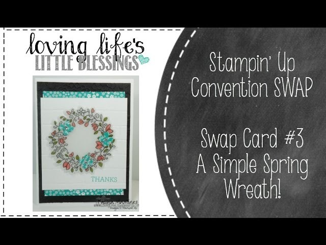 How To Create A DIY Spring Wreath Card