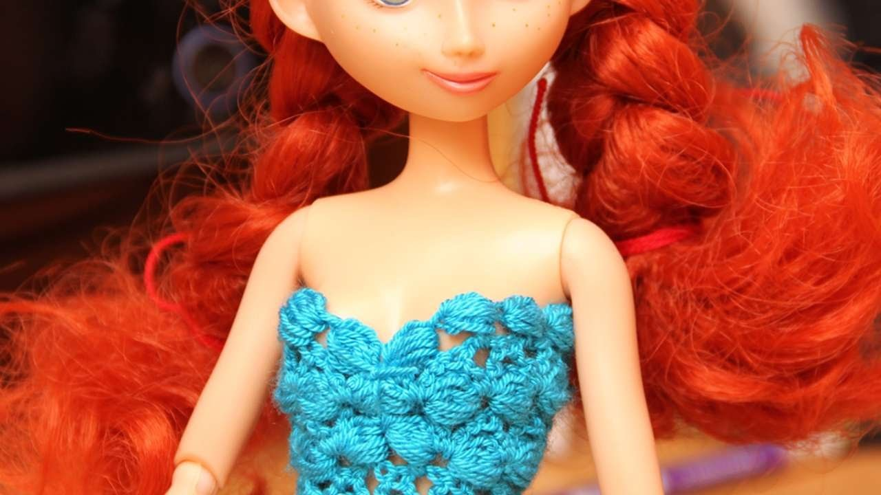 How To Crochet A Dolls Top - DIY Crafts Tutorial - Guidecentral