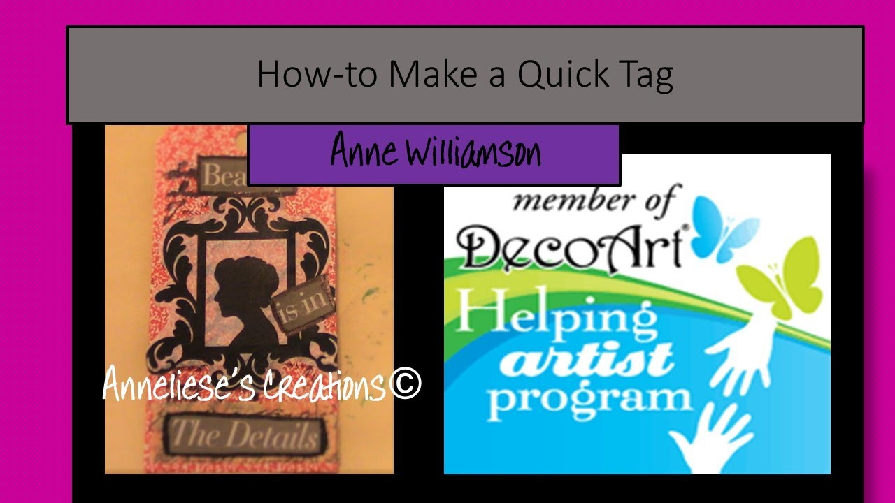 How-to (DIY) Make a Quick Tag Out of An Old Game Card