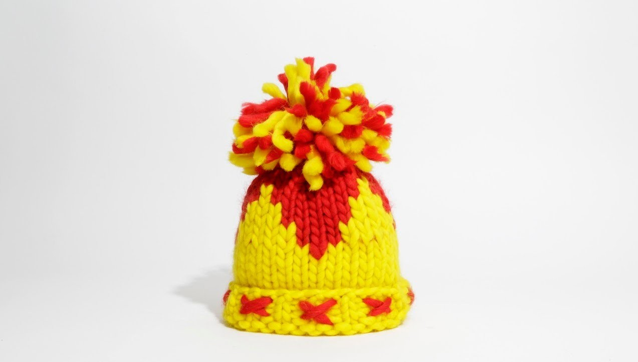 How To Knit a Hat With Circular Needles: Codesigned With Vivienne Westwood