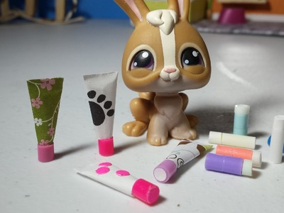 How to Make LPS Chapstick and Lotion : Doll DIY Accessories