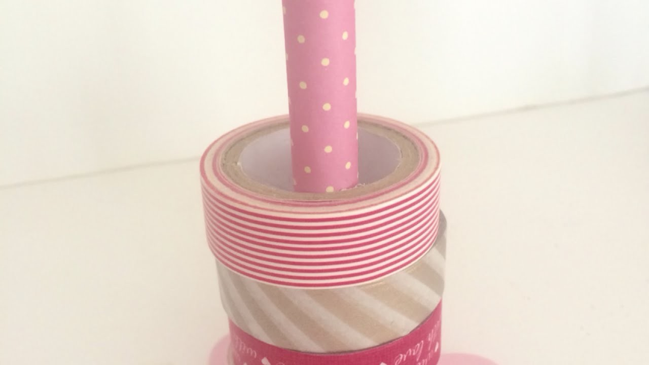 Make a Handy Washi Tape Stand - DIY Home - Guidecentral