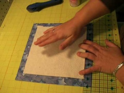 Make a Quilt Sandwhich