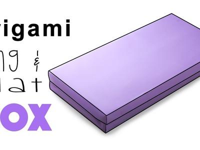 Origami Long Flat Box Instructions