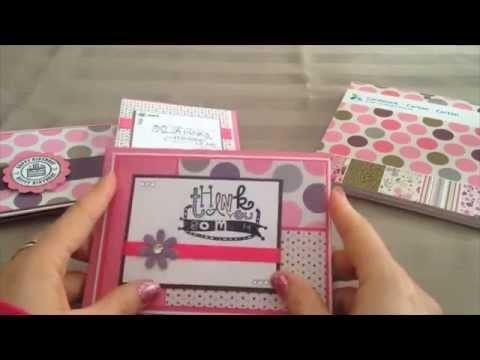 Project Share - Cards - Cricut die cuts - mini junk journal