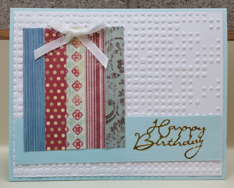 Birthday Present Handmade Birthday Card