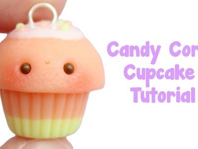 Candy Corn Cupcake Tutorial | Halloween Crafts