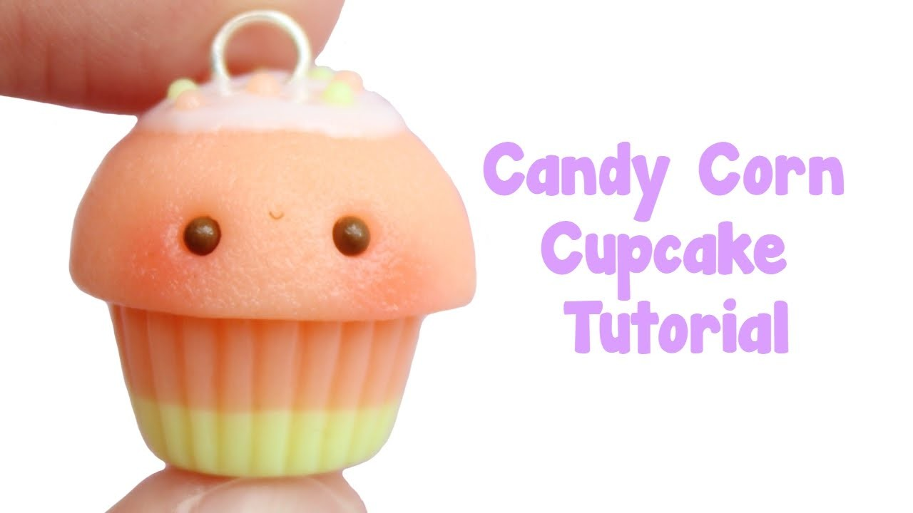 Candy Corn Cupcake Tutorial | Halloween Crafts