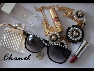 DIY- Chanel inspired sunglasses