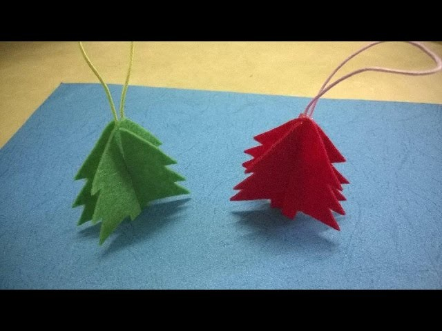 DIY Christmas Ornaments - Easy Christmas Tree Craft For Kid