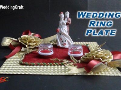 DIY Engagement. Wedding Ring Platter | How to make | JK Wedding Craft  036
