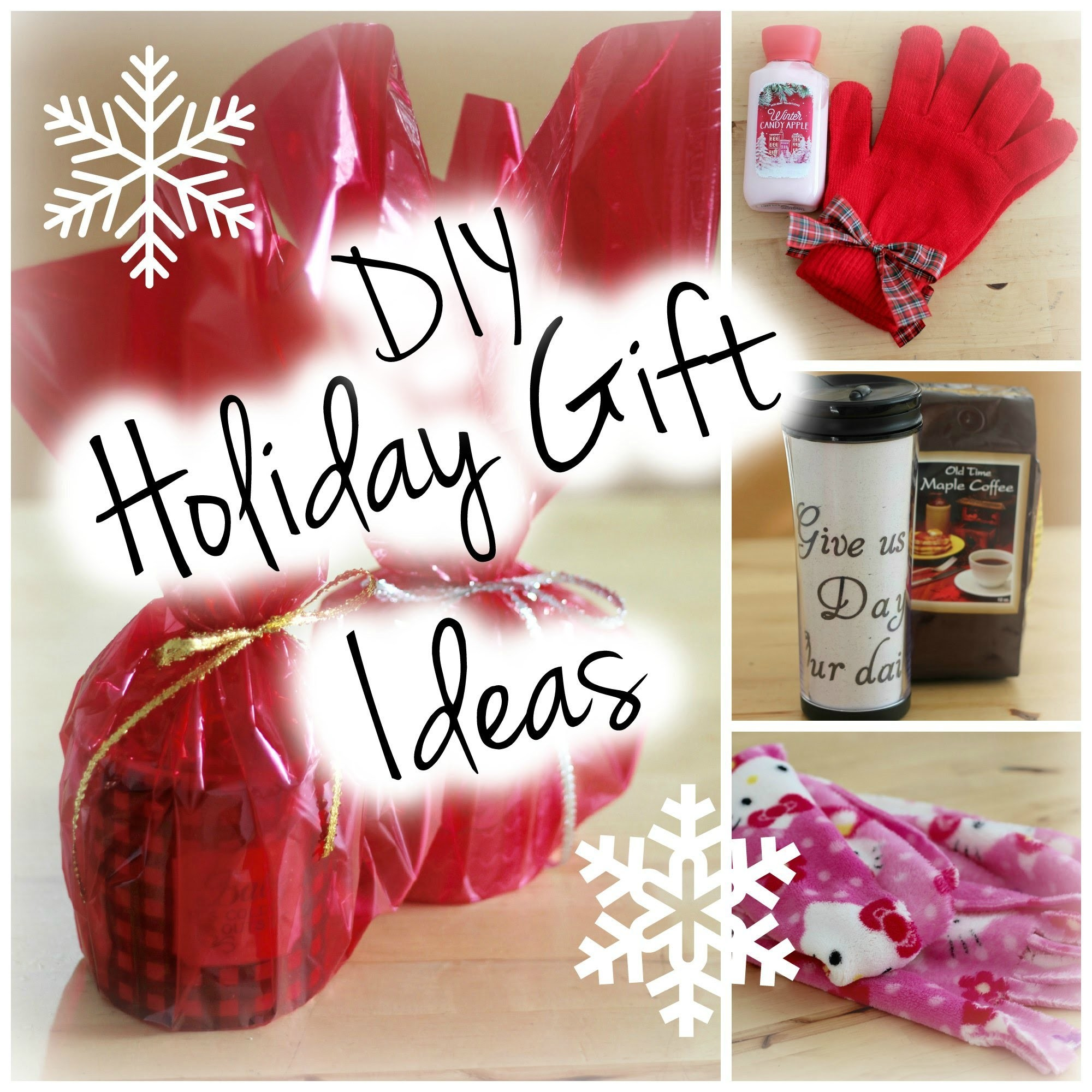 DIY Holiday Gift Ideas | Easy & Affordable