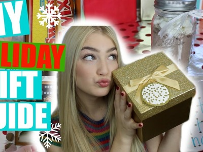 DIY HOLIDAY GIFT IDEAS! Holiday Gift Guide 2015!