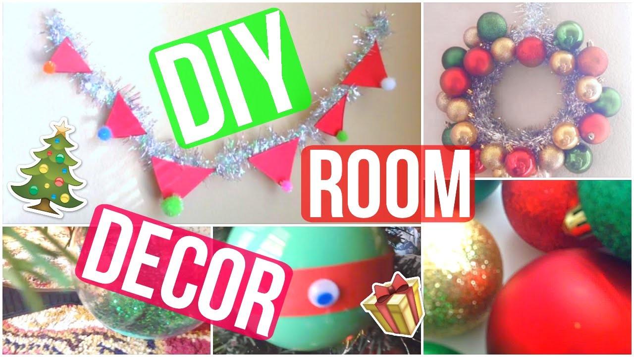 DIY Holiday Room Decor 2015