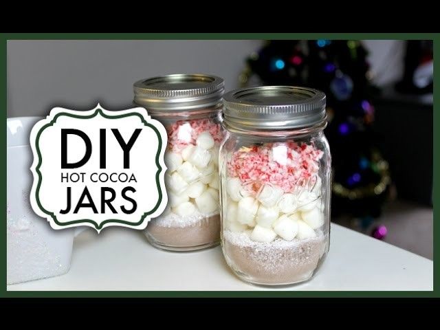 DIY Hot Cocoa Jars ❄ #DecemberDaze Day 6