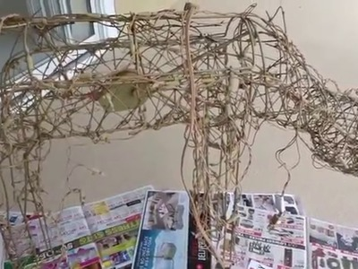 DIY,  How to Restore Animated Old Deer under $6