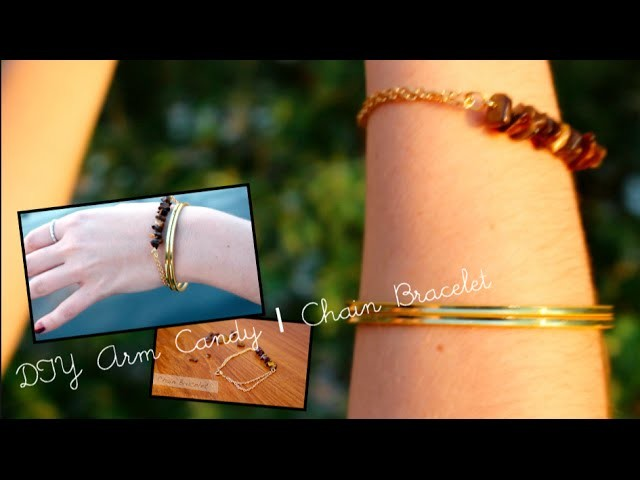 DIY Jewellery | Chain Bracelet