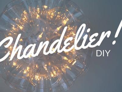 DIY Plastic Cup Chandelier