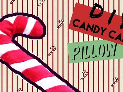 DIY Room Decor • Candy Cane No Sew • heartcindy