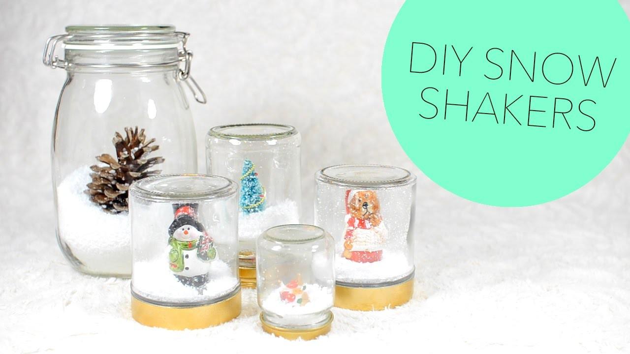 DIY Snow Shakers | ErinRachel