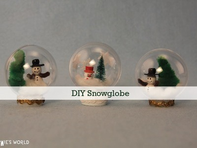 DIY Snowglobe|Sophie's World