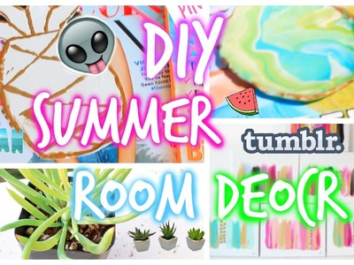 DIY summer room decor: tumblr & Pinterest inspired