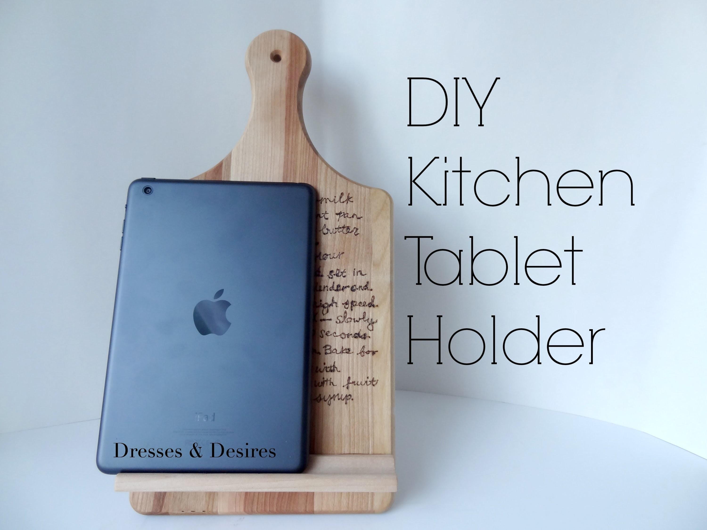 DIY Tablet Holder | Mother's Day Gift