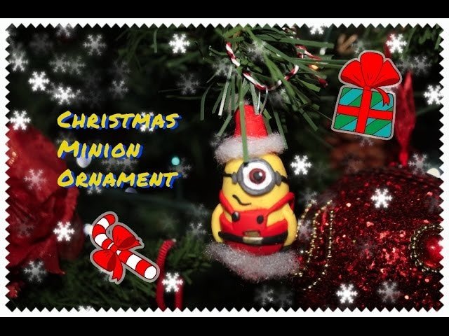 Diy: Tutorial Minion Ornament for Christmas Tree