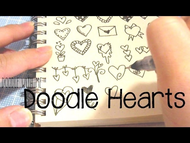 Doodle with Me: Hearts
