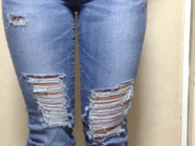 Easily Distress Your Old Jeans - DIY Style - Guidecentral