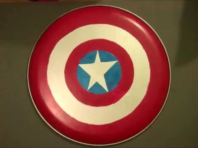Easy DIY Captain America Shield