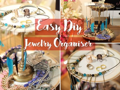 EASY DIY JEWELLERY ORGANISER | Myhappinesz