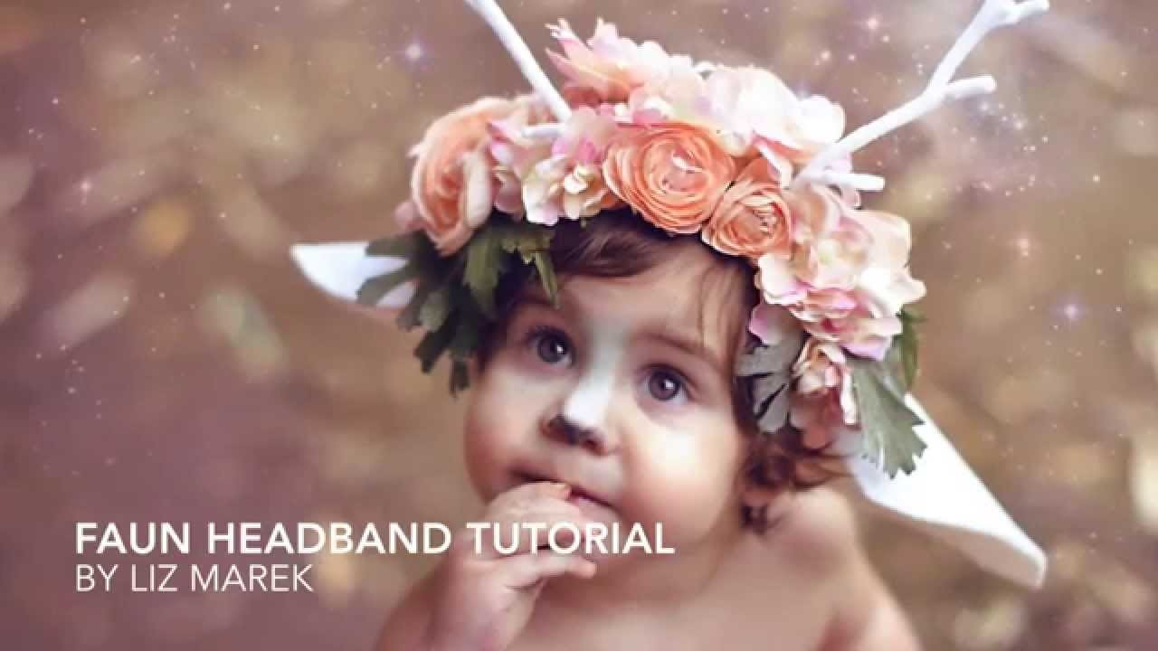 Faun Headband Tutorial