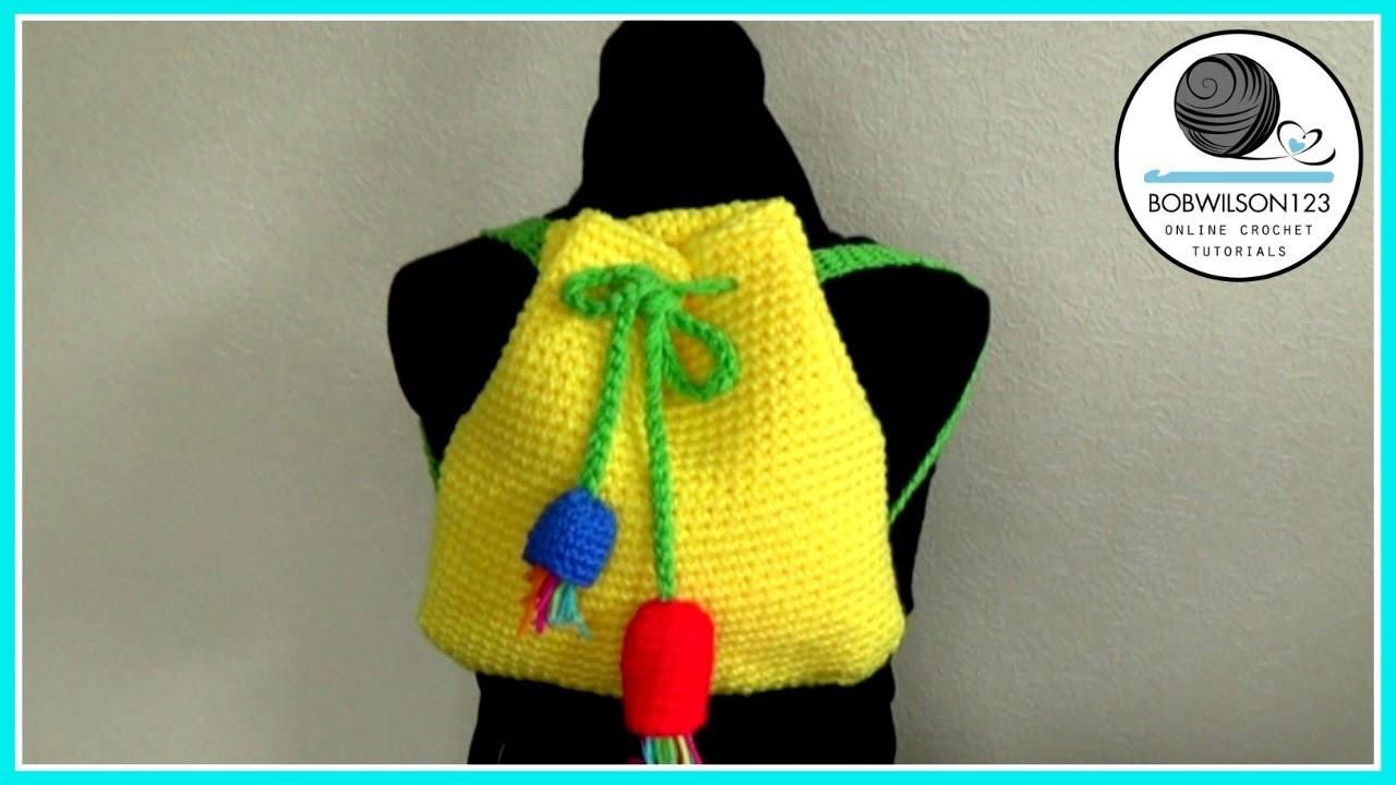 Gumnut Backpack Crochet Tutorial