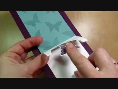 Half Circle Pop Up Card Tutorial